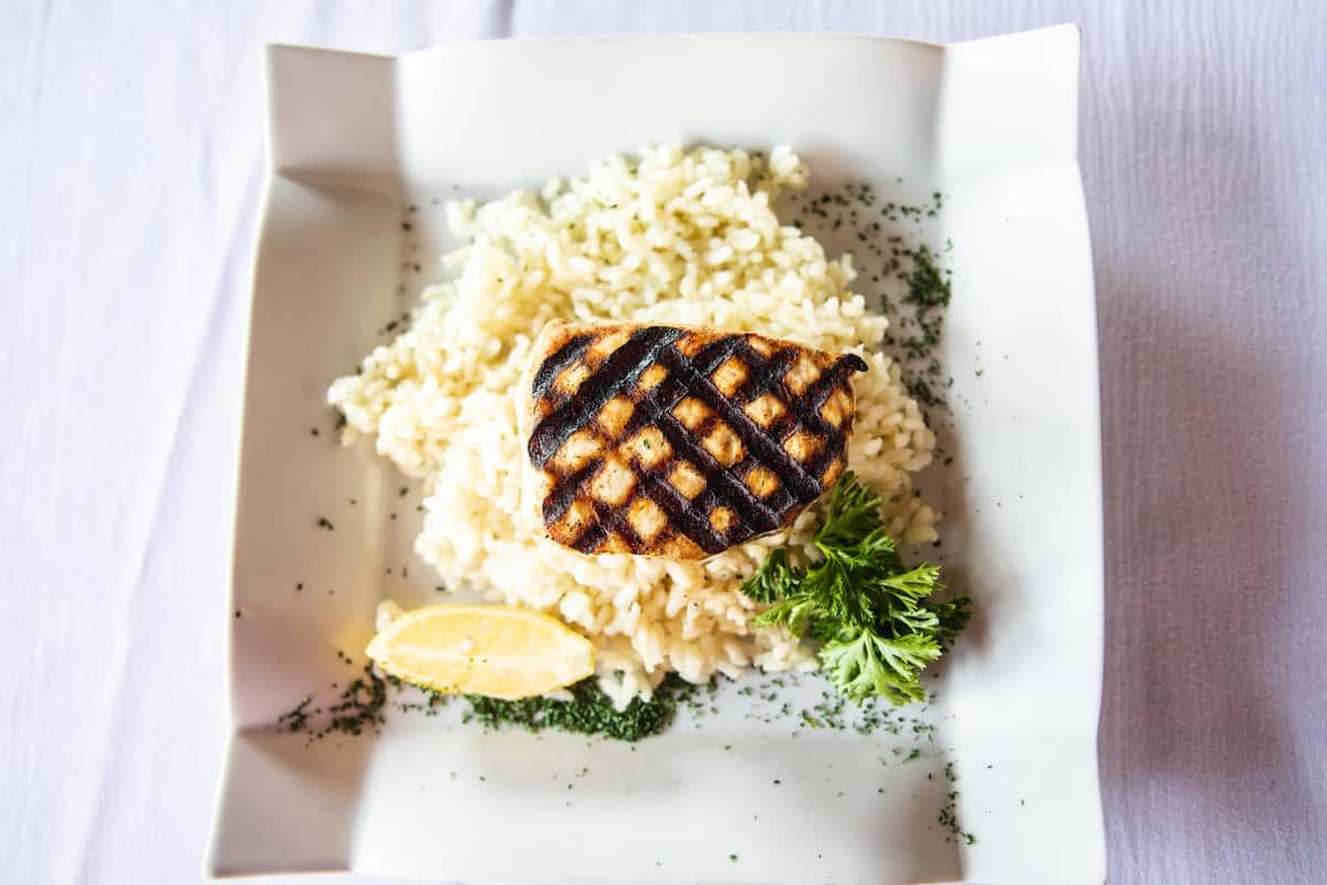 Swordfish Blackened or Grilled