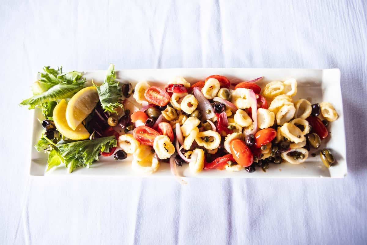 Fried Mediterranean Calamari