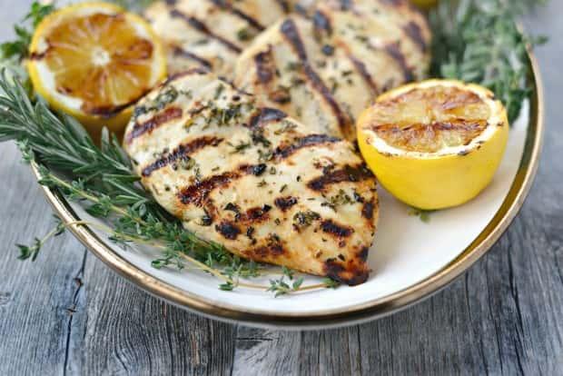 Greek Marinated Chicken Breast