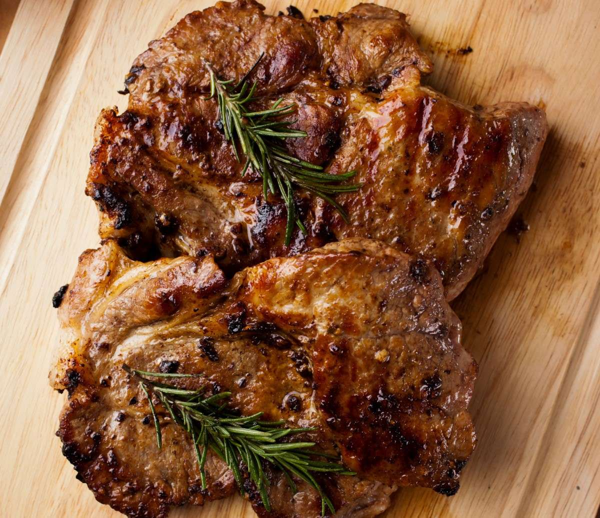 Garlic Rosemary Pork Chops