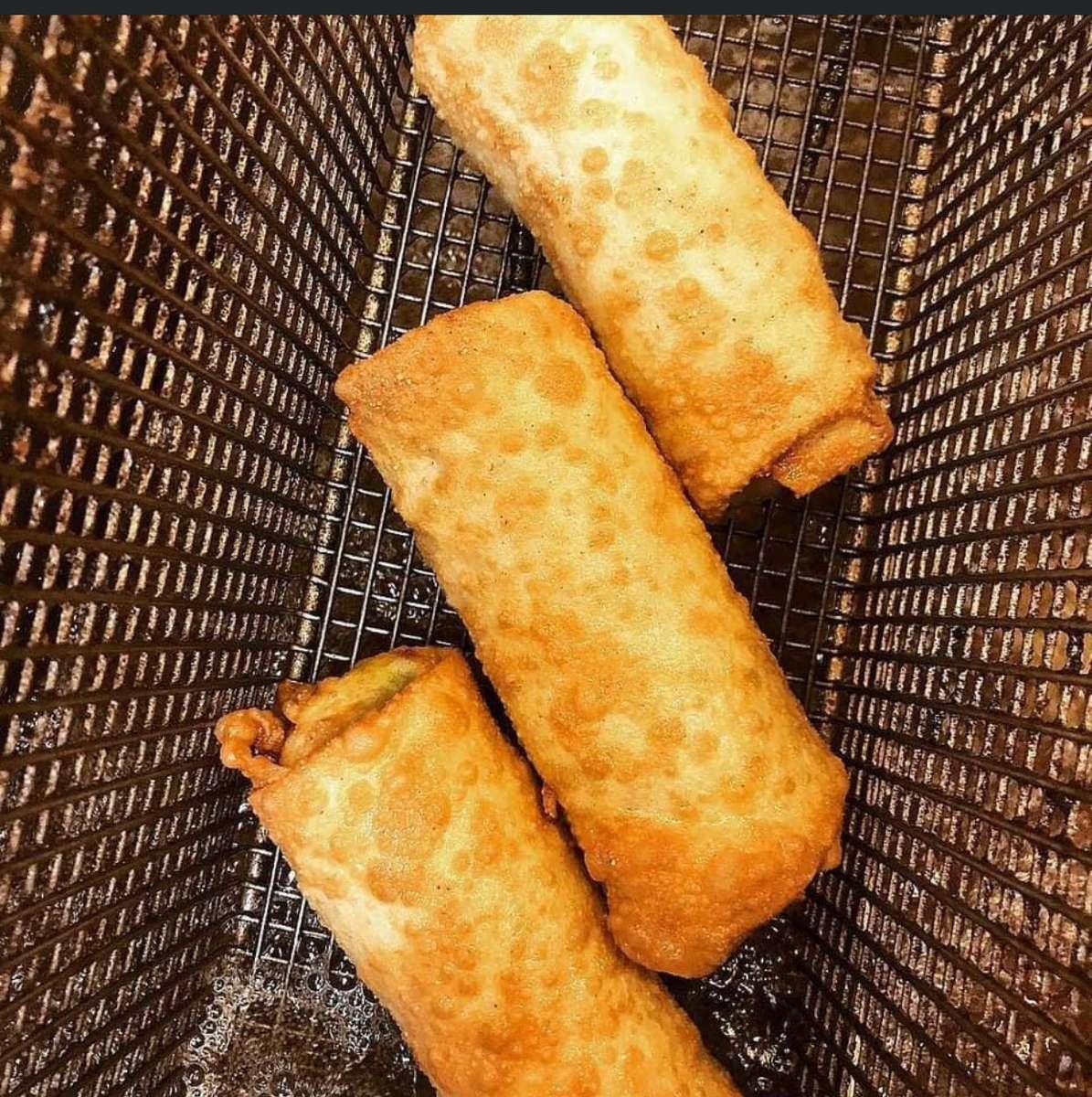 Salmon Cheesesteak rolls