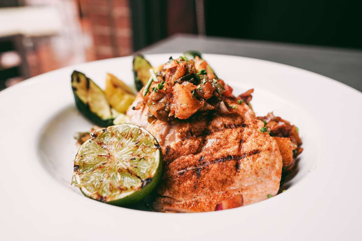 Chili Lime Grilled Salmon