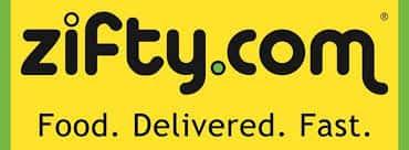 zifty.com logo - food delivered fast
