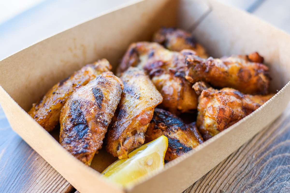 Marinated & Grilled Wings