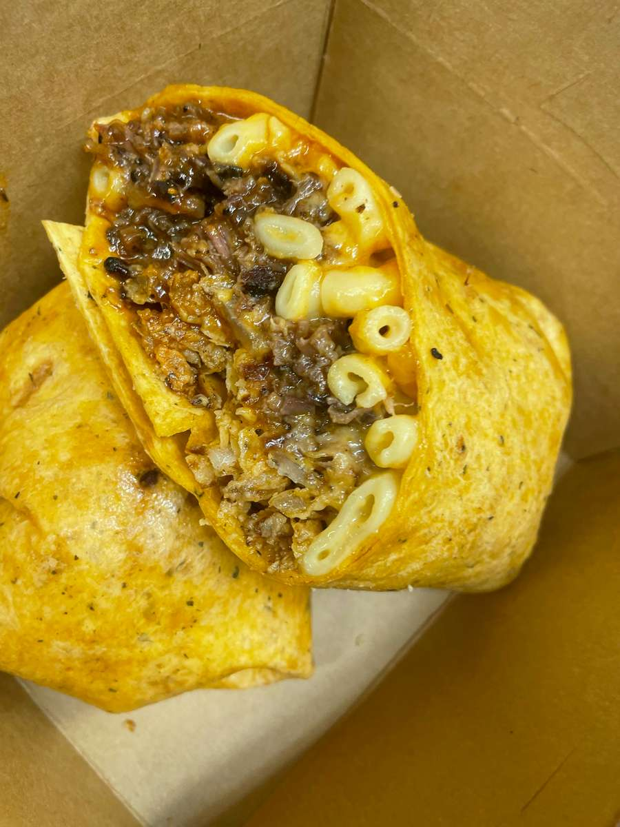 BBQ Mac Wrap