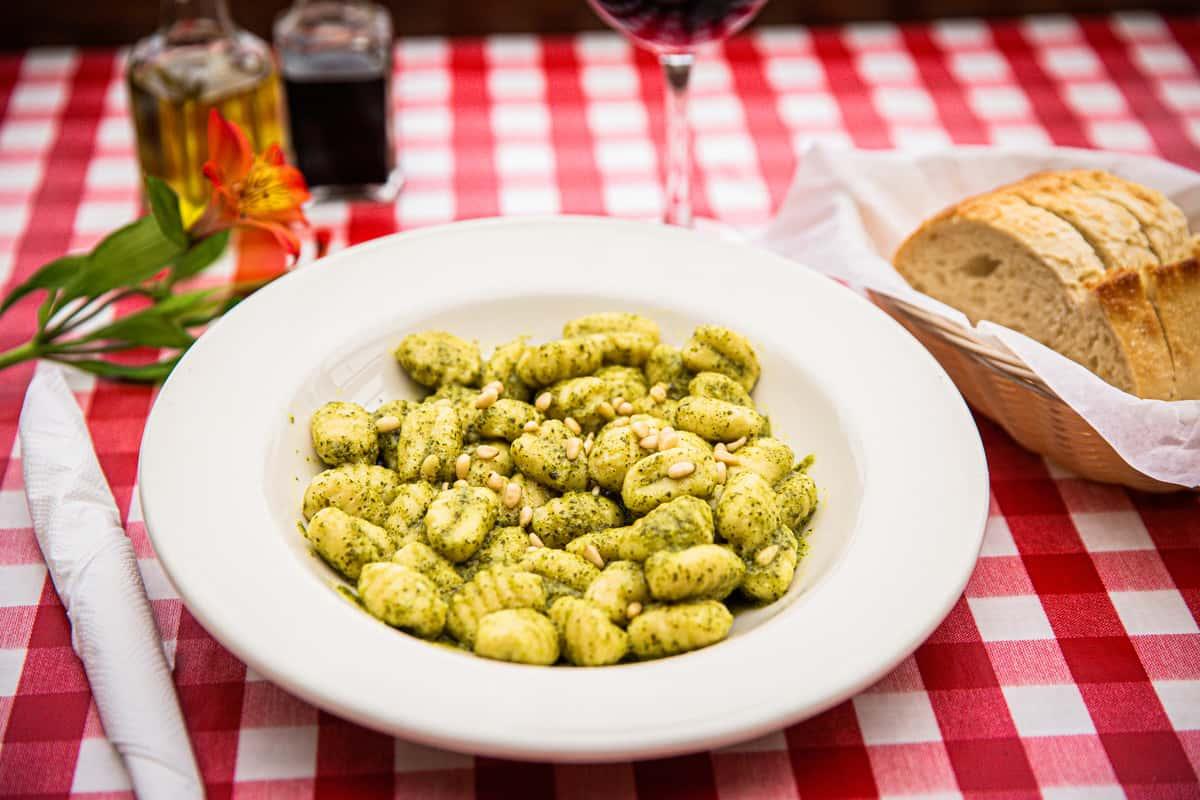 Gnocchi al Pesto Genovese