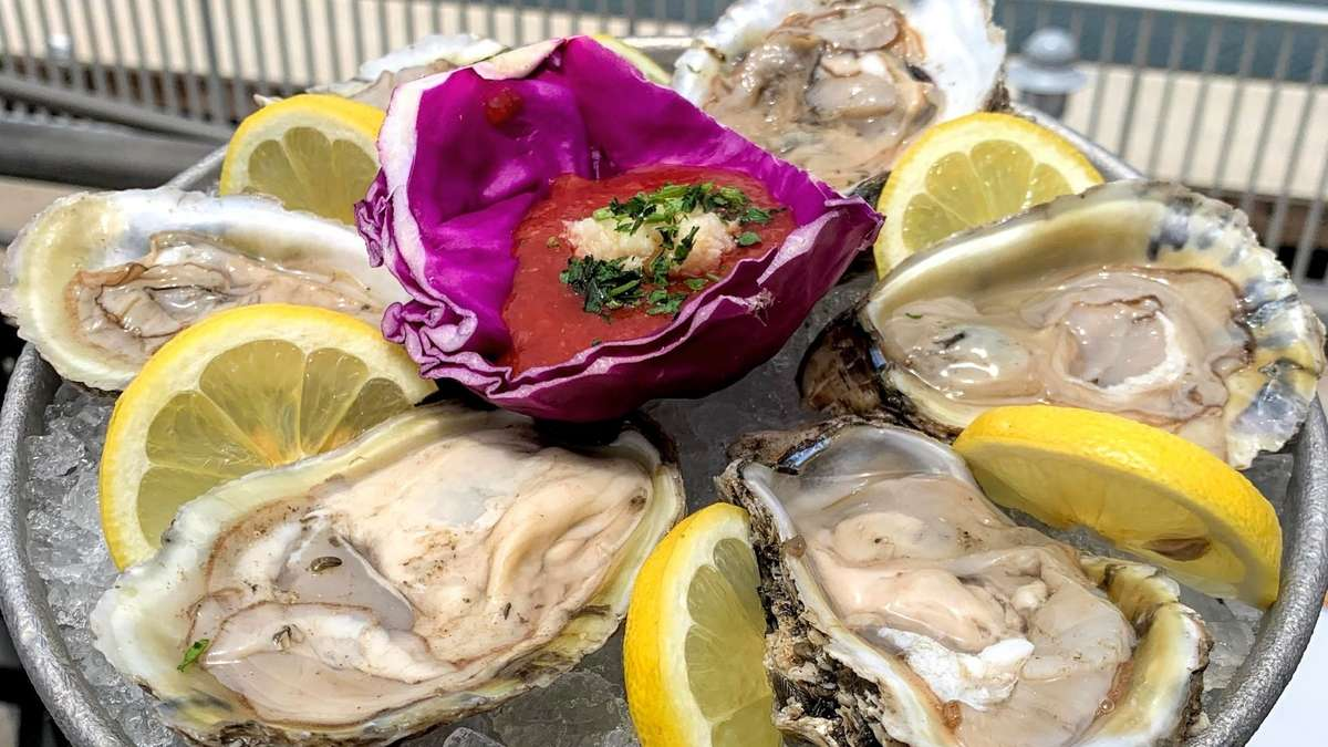 Oysters on the 1/2 Shell
