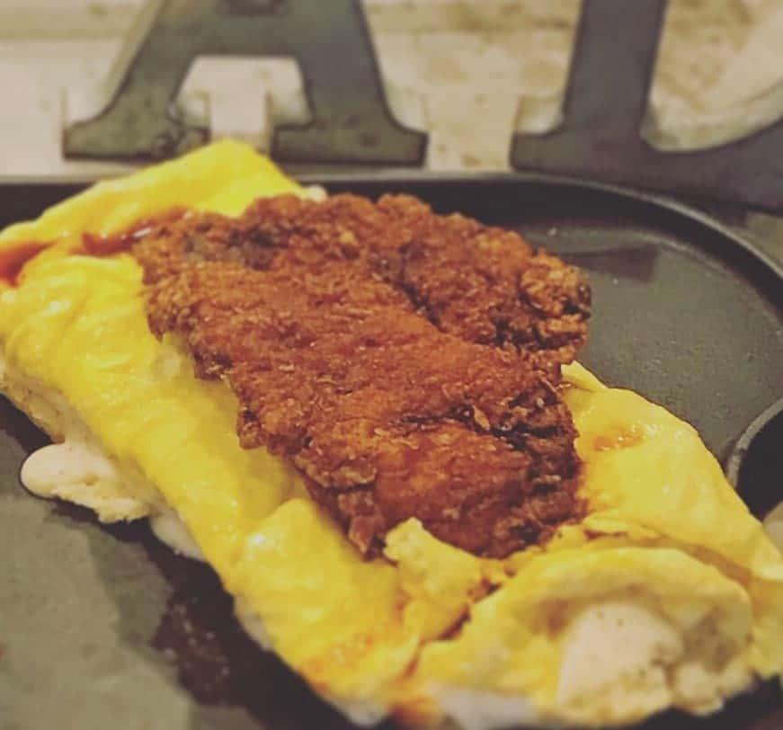 Nashville Hot Chicken Breakfast
