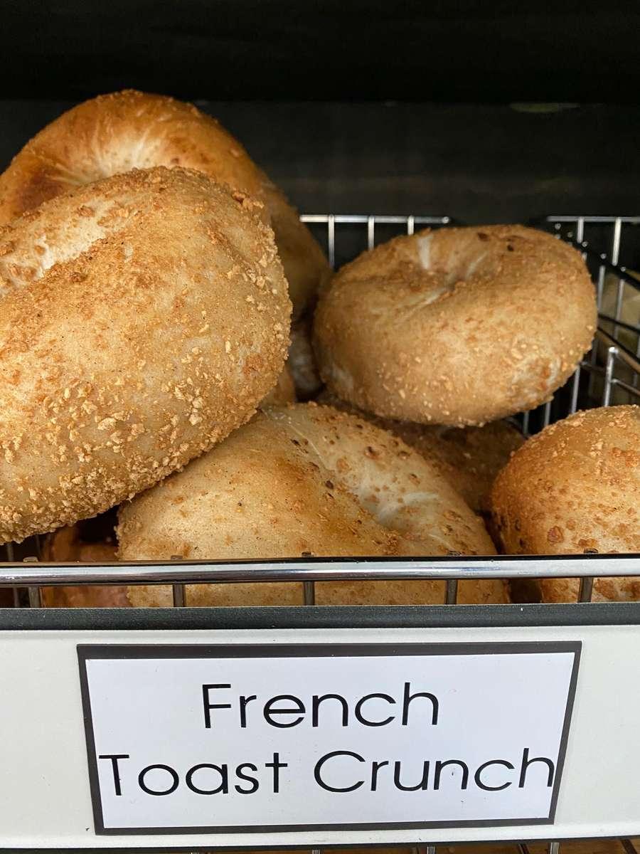 French Toast Crunch Bagel
