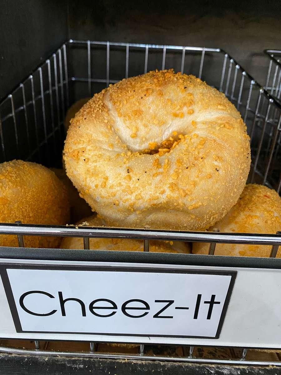 Cheez-It's Bagel