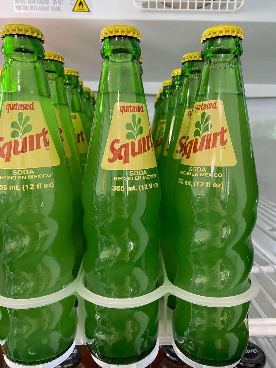 Squirt Glass Bottle