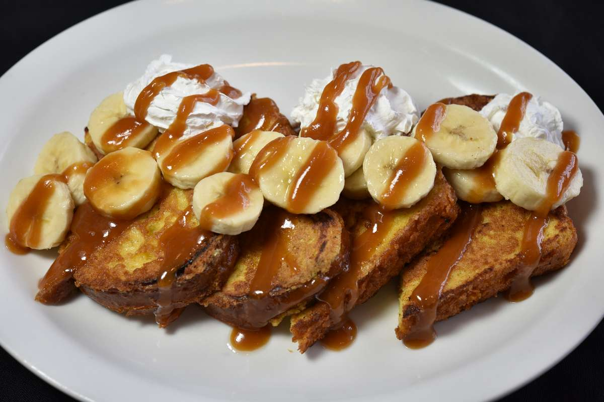 Banana Foster French Toast