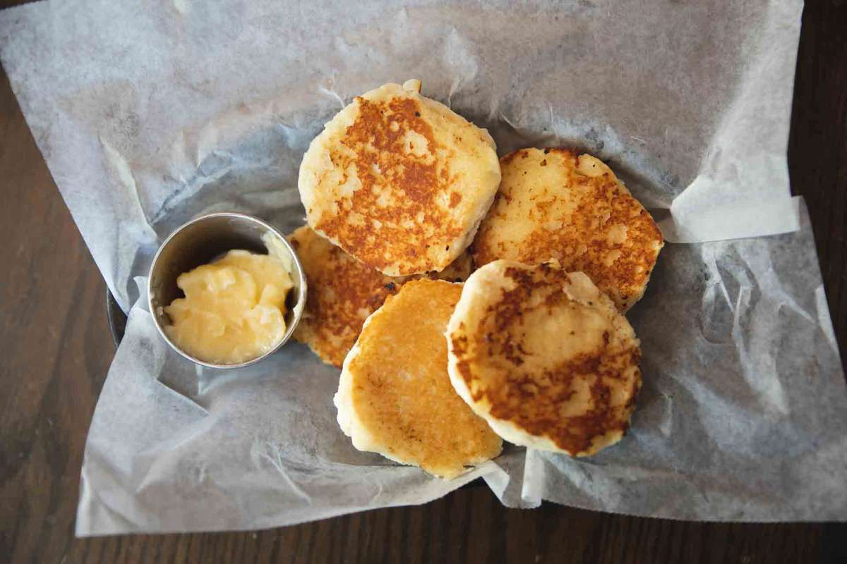 Grilled Honey Butter Biscuit