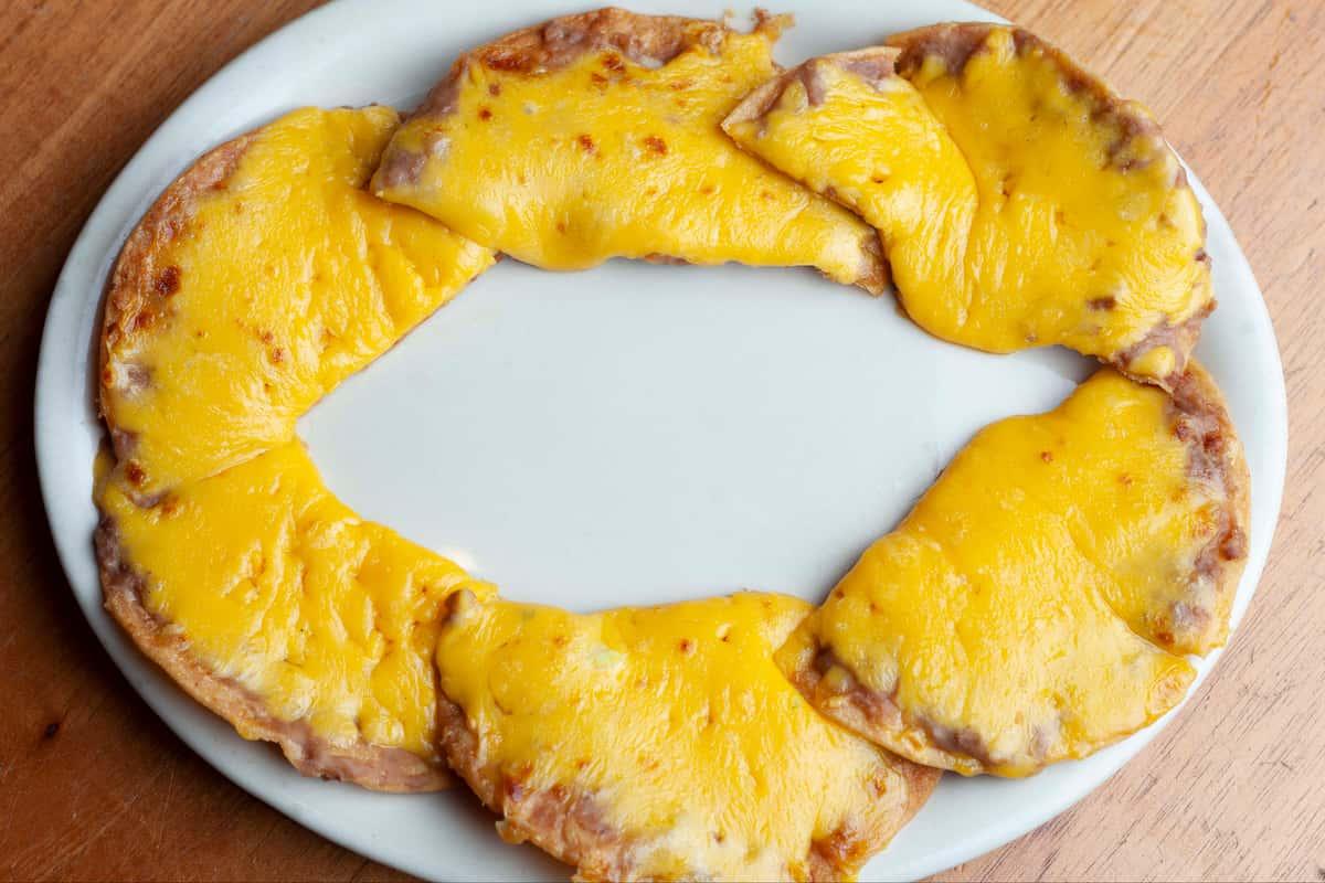 Bean and Cheese Nachos