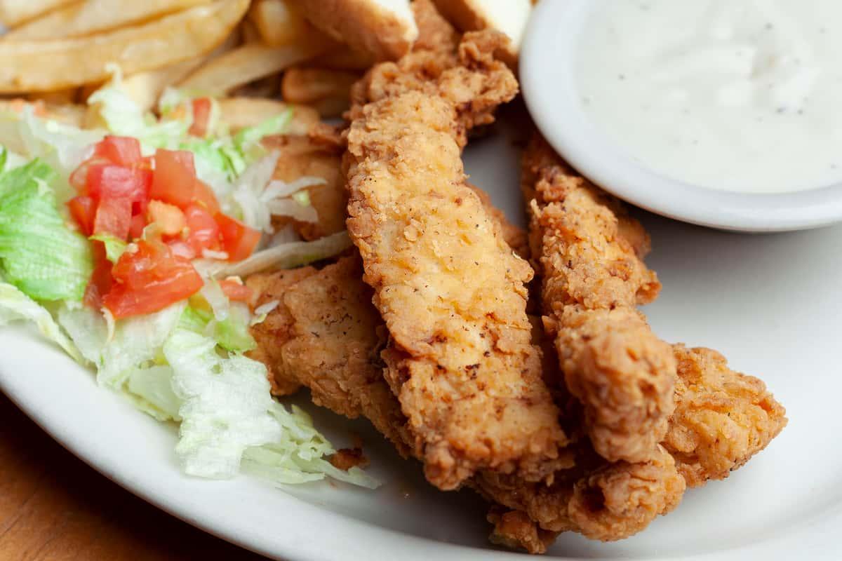 Chicken Strip Plate