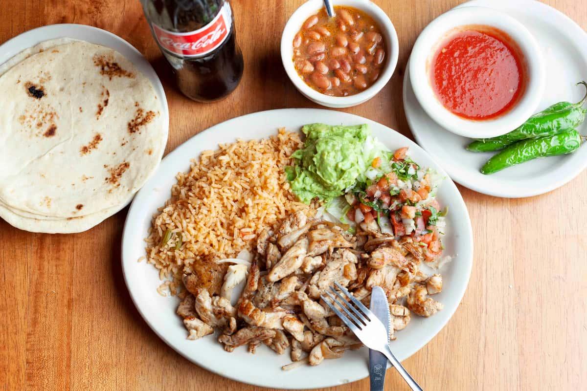 Chicken Fajita Plate