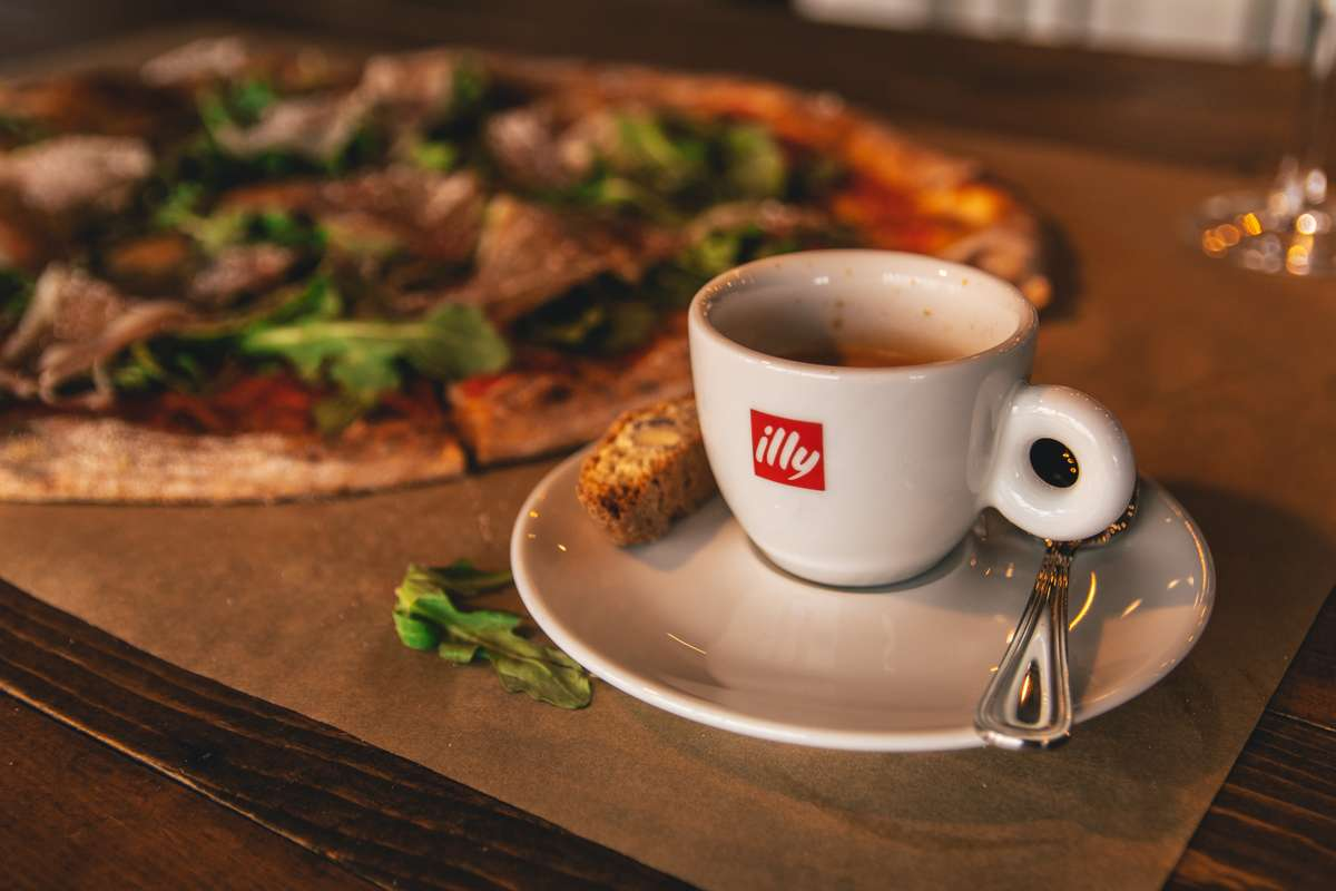 Pizza and Coffee