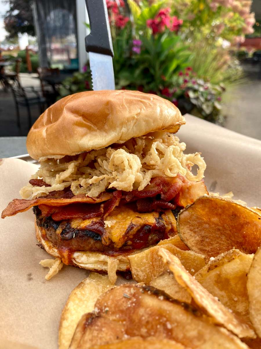 Southwest Rodeo Burger