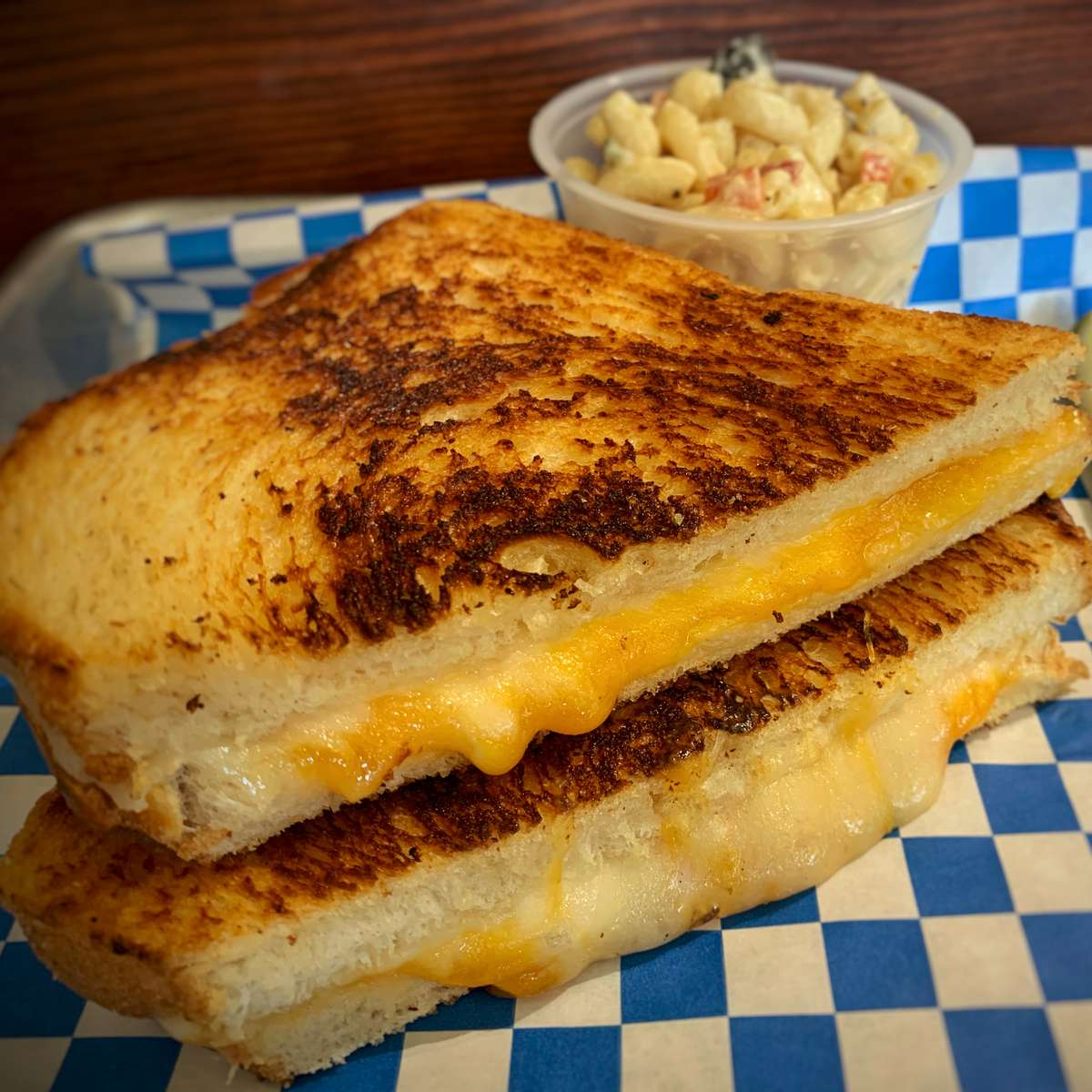 Plain Ol' Grilled Cheese