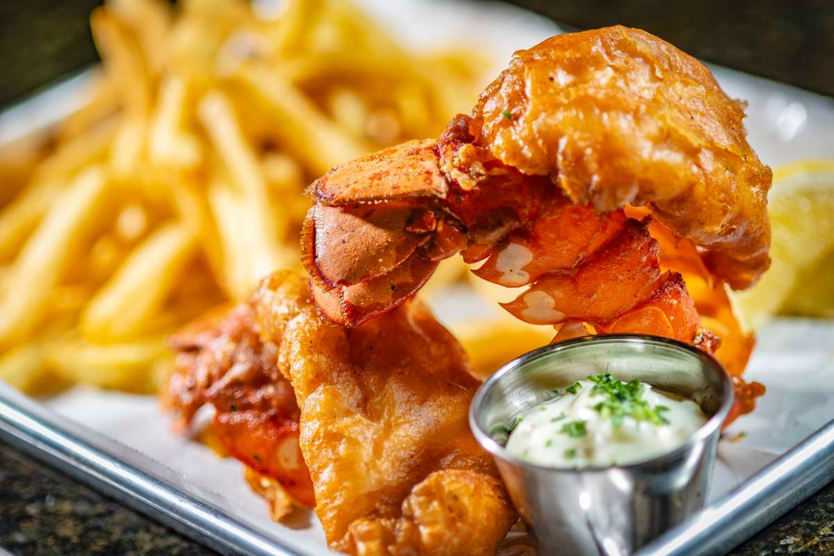 2 Fried Lobster Tail