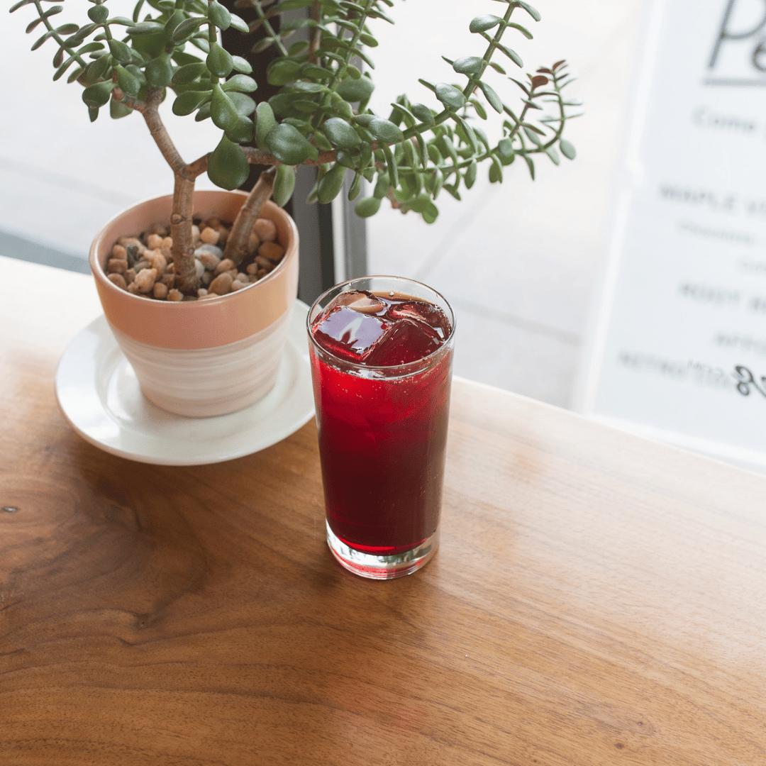 Iced Berry Hibiscus Tea