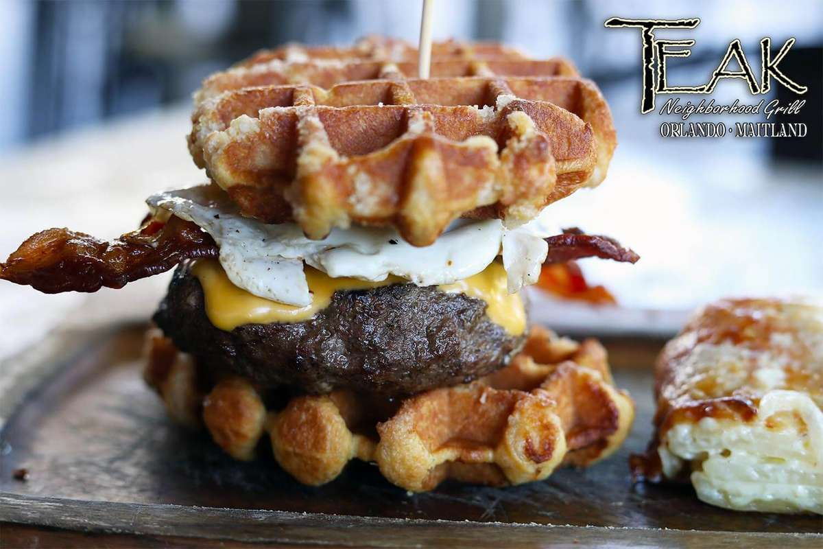 The Waffle Burger