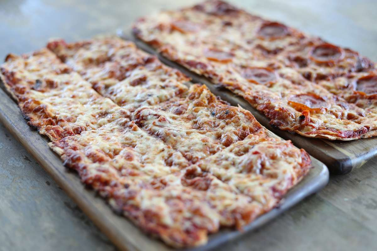 Cheese and Pepperoni Flat