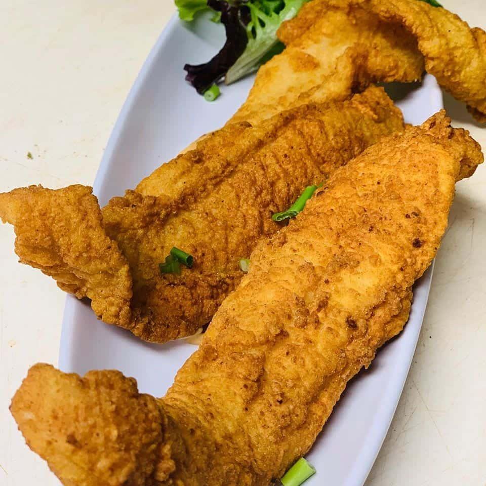 Fried Grouper Fingers