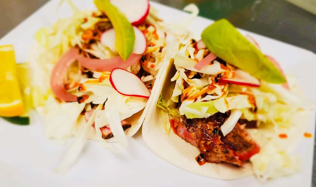 Spicy Ahi Tuna Taco