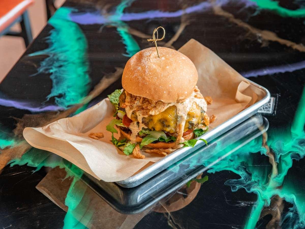 Da'Bayou Burger