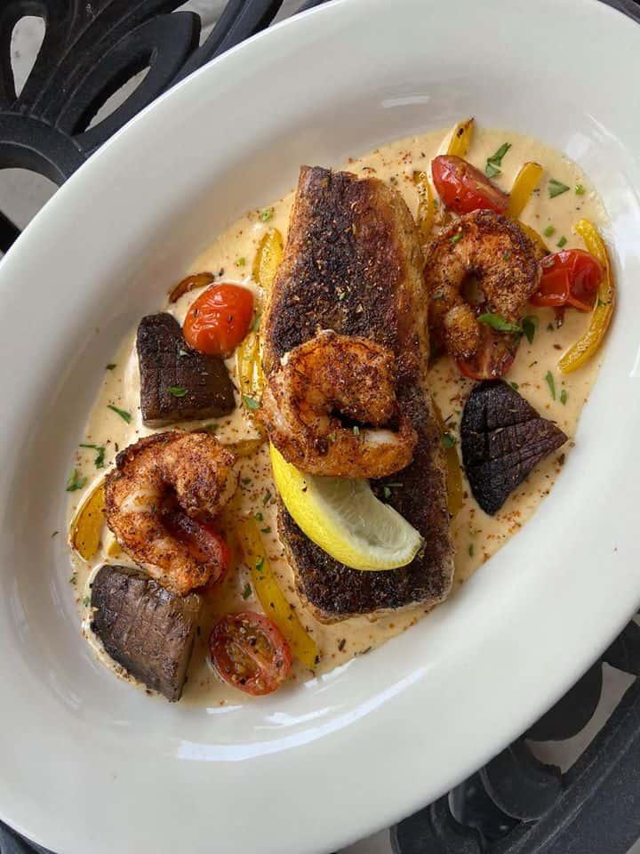 Chef Ali's Famous Fish Pontchartrain