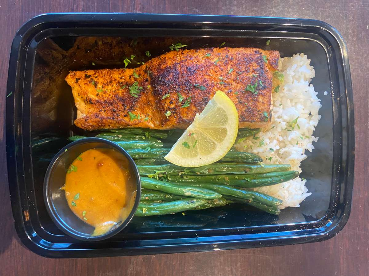 Salmon Meal To Go