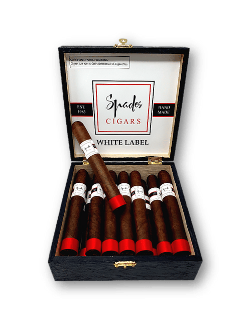 spades cigar white label
