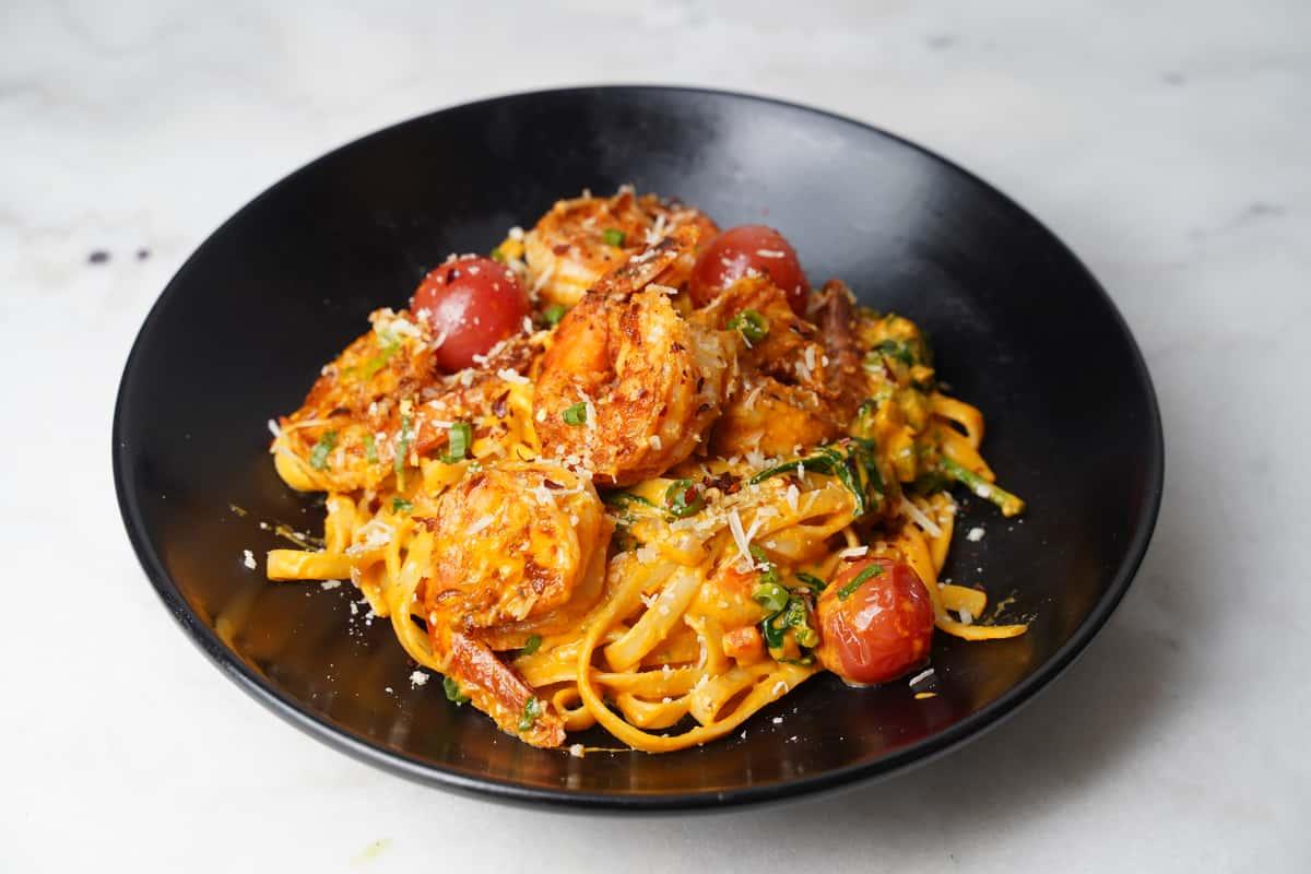 Shrimp Creole Pasta