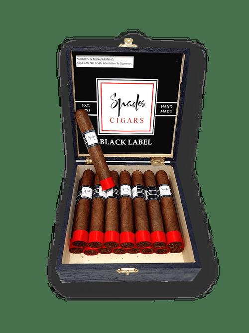 spades cigar Black label