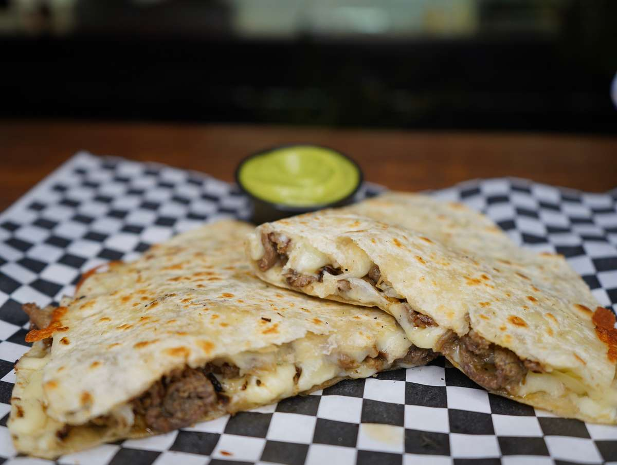Quesadilla with your choice of meat