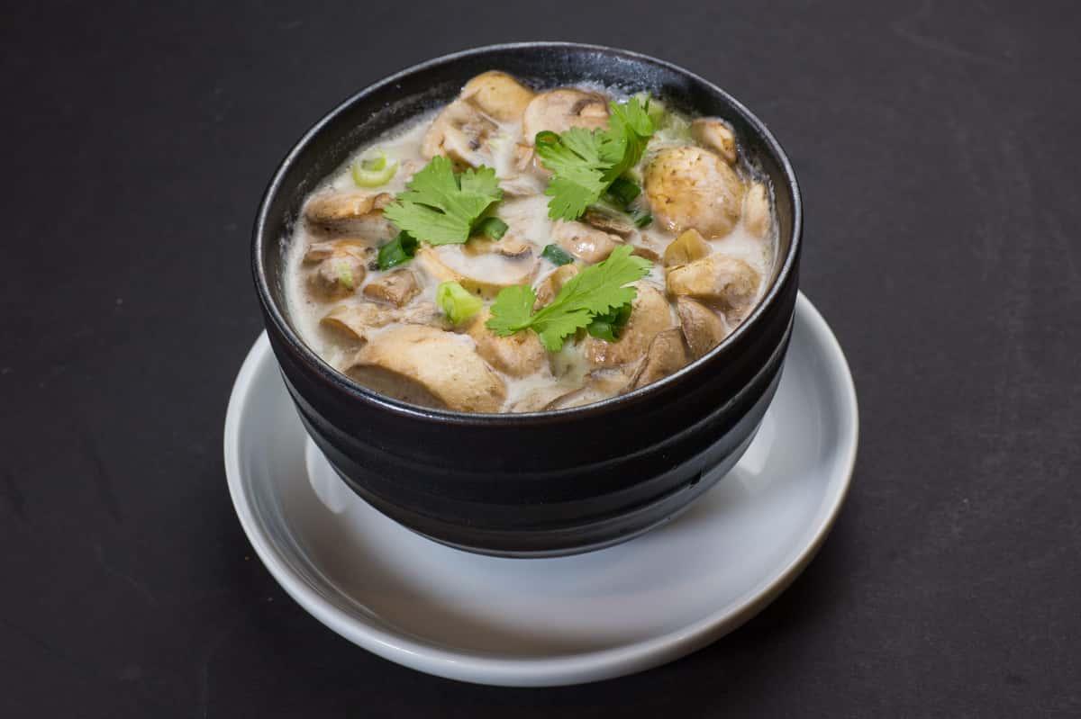 TOM KHA THAI SPICY COCONUT SOUP