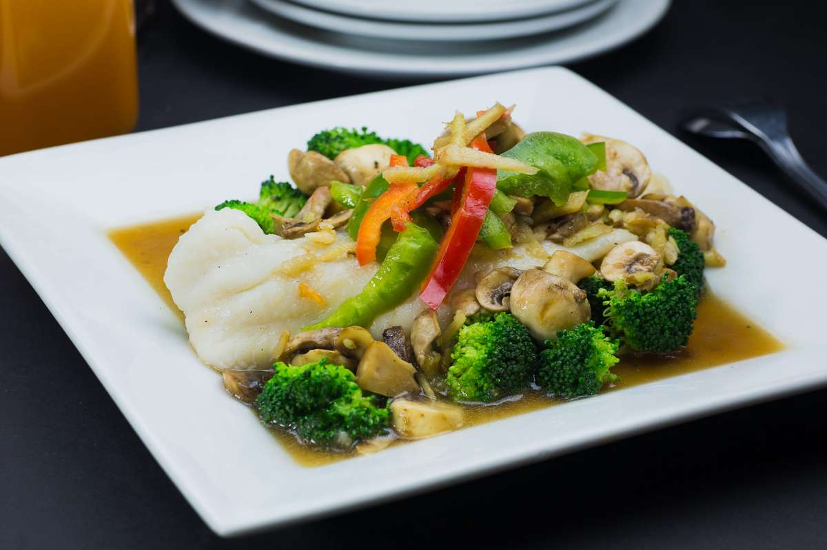 STEAMED SOLE FISH