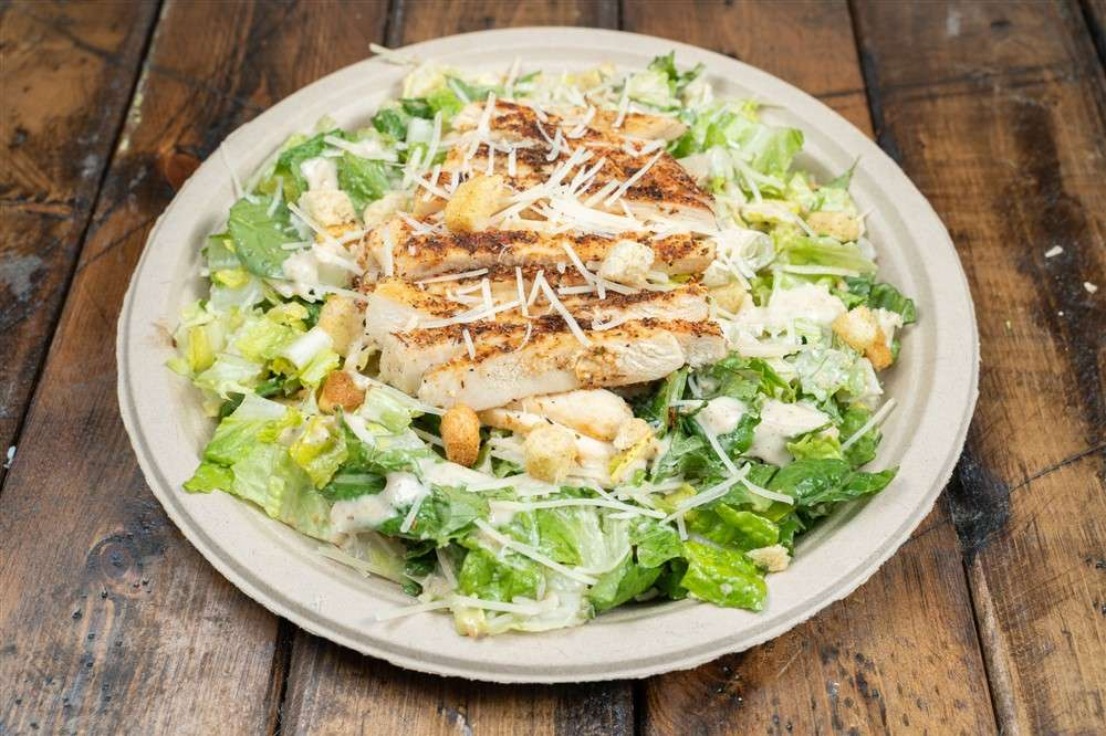 Blackened Chicken Caesar Salad