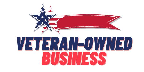 Veteran-owned business logo