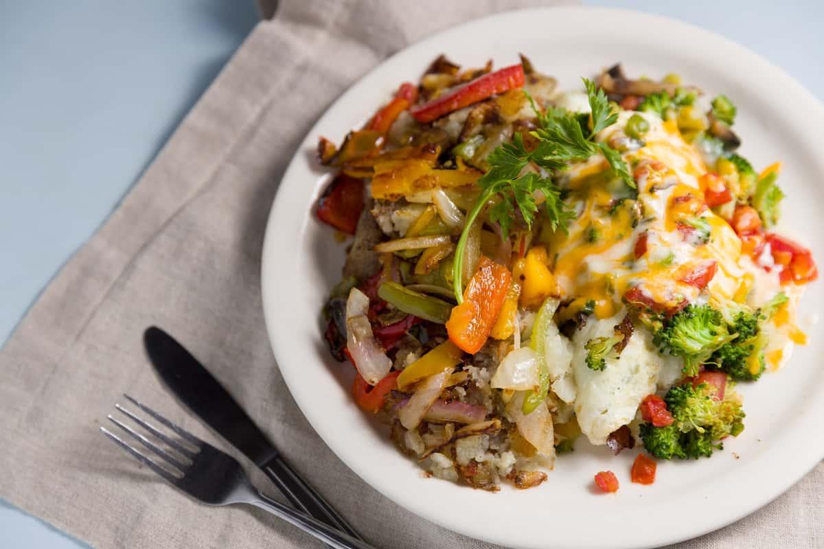 Terry's Veggie Omelette