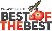 palm springs life - best of the best award