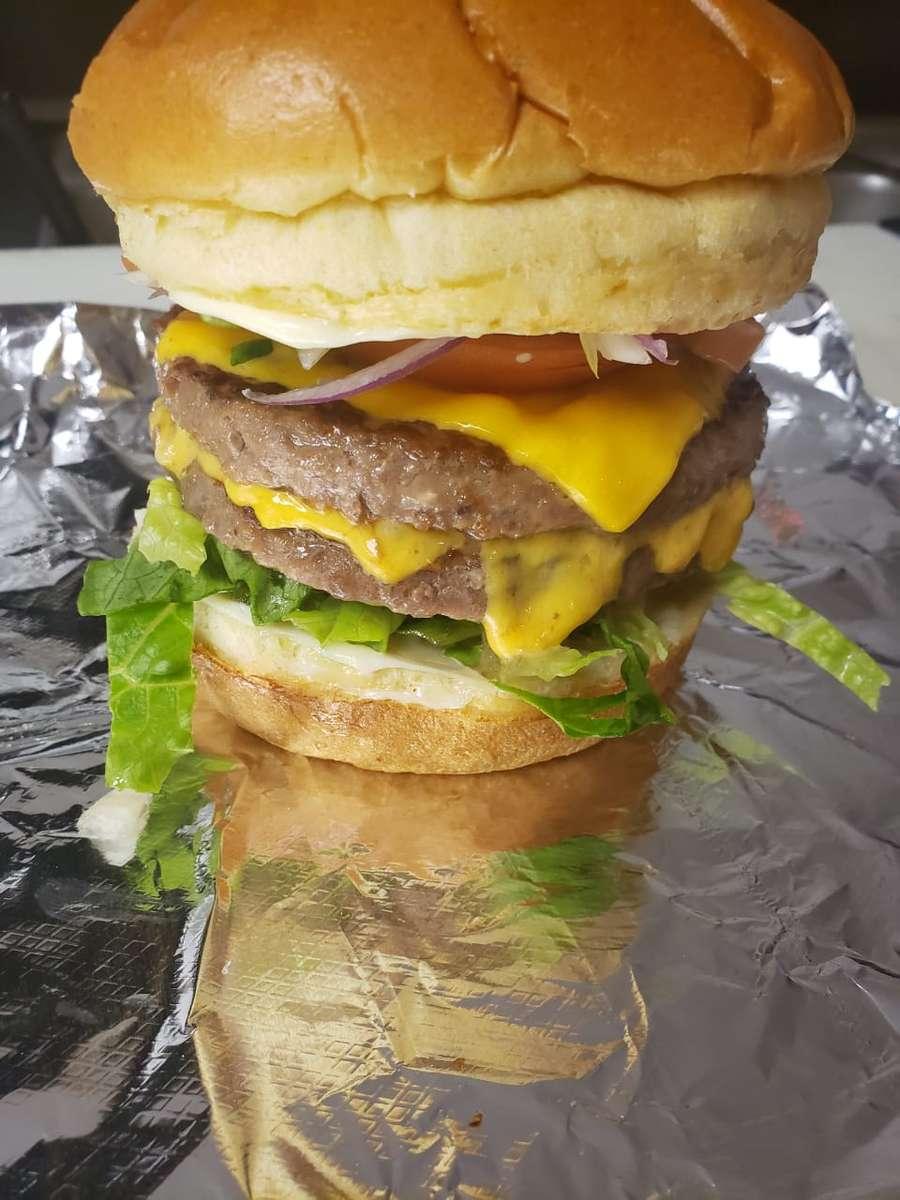 Large burger