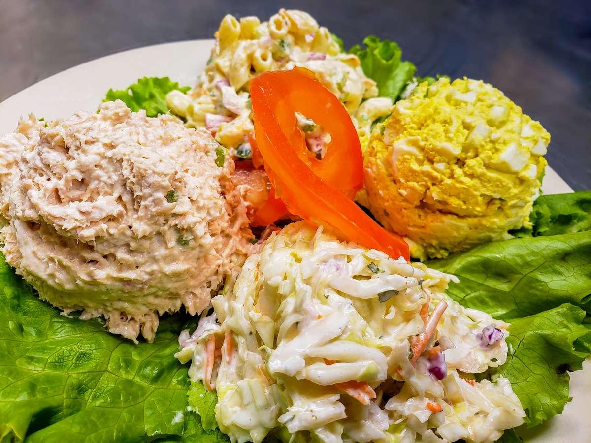 Cold Salad Plate