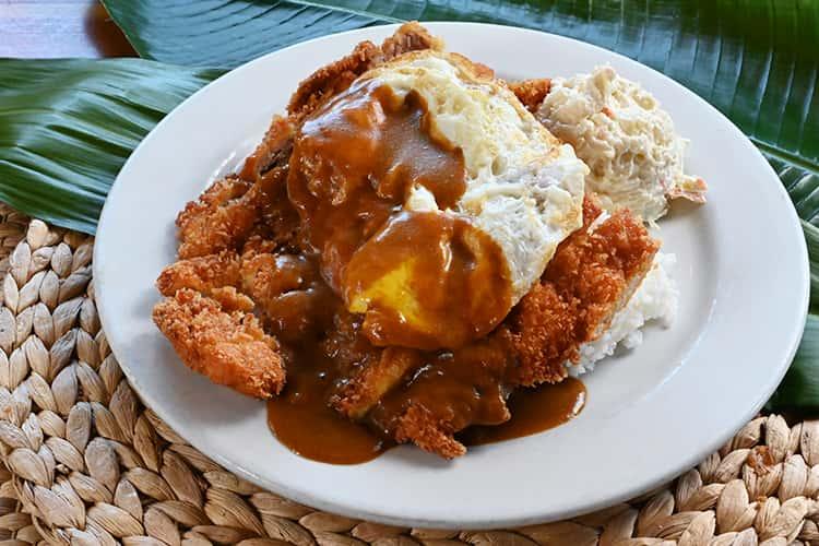 Chicken Katsu Curry Loco Moco