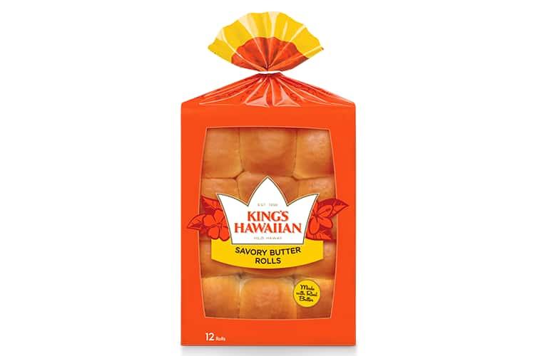 KING'S HAWAIIAN®    12-Pack Savory Butter Rolls