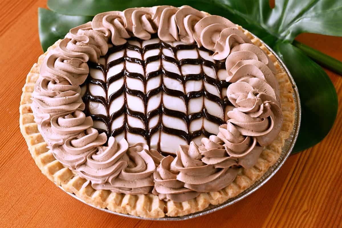 Chocolate Haupia Pie
