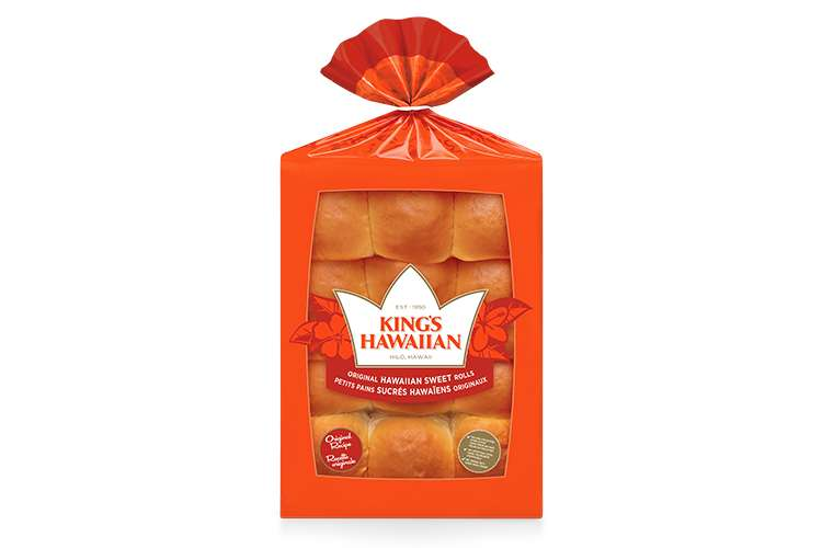 KING'S HAWAIIAN®    12-Pack Dinner Rolls