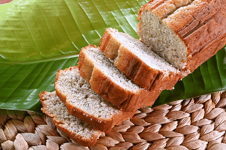 POUND CAKE || Banana
