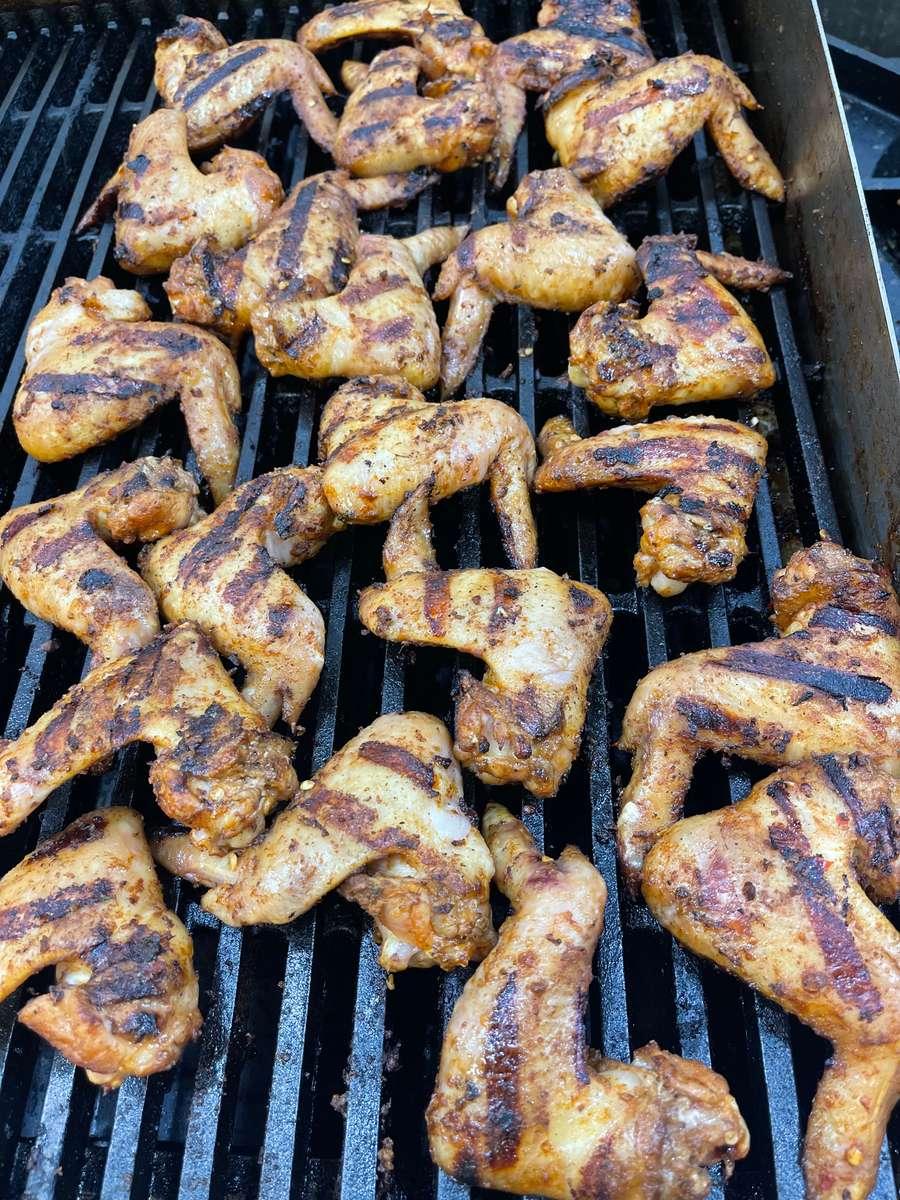 Jamaican Jerk Wings